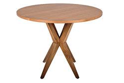 ALEXIS – Table ronde en teck naturel