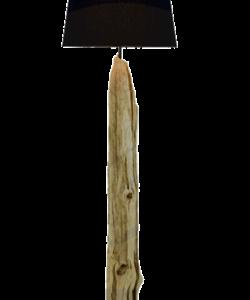 REK – Lampe bois recyclé