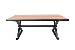 Warna Warni 53 – Table esprit industrielle en bois de mindy